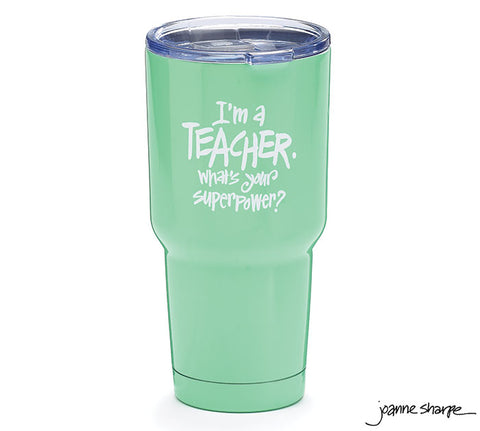 Teacher Stainless Steel Travel Cup