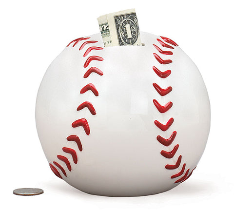 Baseball Bank, [Premier Gifts and Balloons], Ceramic Gifts, Premier Gifts 'n Balloons