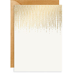 Chandelier Foil A7 Invite, [Premier Gifts and Balloons], Stationary, Premier Gifts 'n Balloons