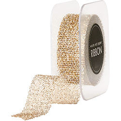 "Champagne 1"" Ribbon - 10 Yds, [Premier Gifts and Balloons], Paper Goods, Premier Gifts 'n Balloons"