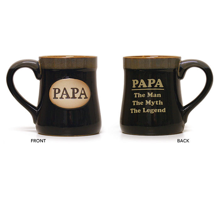 Papa The Man Myth Legend Mug