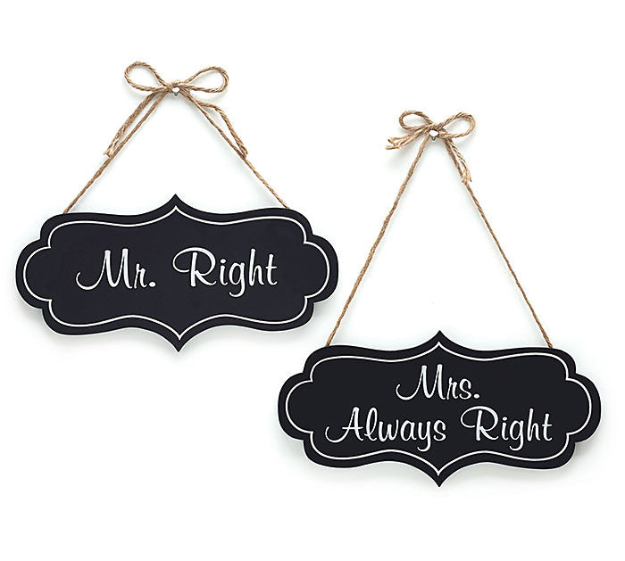 Mr & Mrs Wedding Decor Signs, [Premier Gifts and Balloons], Event Decorations, Premier Gifts 'n Balloons