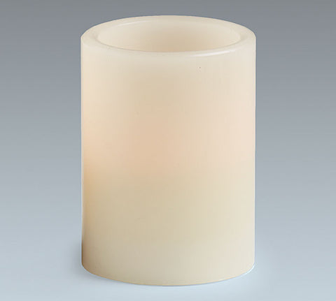 "4"" Ivory LED Candle, [Premier Gifts and Balloons], Event Decorations, Premier Gifts 'n Balloons"