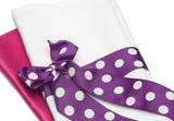 "Purple 1.5"" Polka Dot Grosgrain Ribbon, [Premier Gifts and Balloons], Accessories, Premier Gifts 'n Balloons"