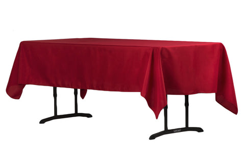 "60""x102"" Rectangular Polyester Tablecloth"