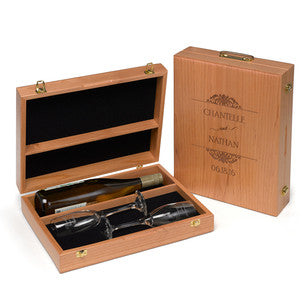 Personalized Wooden Wine Ceremony Box