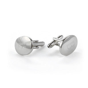 Custom Oval Cuff Links, [Premier Gifts and Balloons], Event Decorations, Premier Gifts 'n Balloons