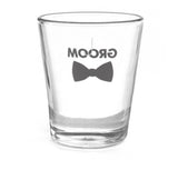 Groom Bow Tie Wedding Party Shot Glass, [Premier Gifts and Balloons], Event Decorations, Premier Gifts 'n Balloons