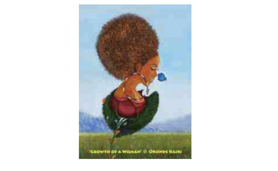 Growth of a Woman Refrigerator Magnet, [Premier Gifts and Balloons], Afrocentric, Premier Gifts 'n Balloons