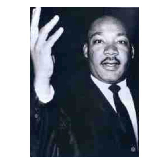 Martin Luther King Refrigerator Magnet, [Premier Gifts and Balloons], Afrocentric, Premier Gifts 'n Balloons