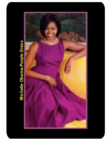 Michelle Obama Refrigerator Magnet, [Premier Gifts and Balloons], Afrocentric, Premier Gifts 'n Balloons
