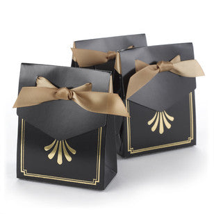 Deco Tent Favor Boxes - Gold, [Premier Gifts and Balloons], Event Decorations, Premier Gifts 'n Balloons
