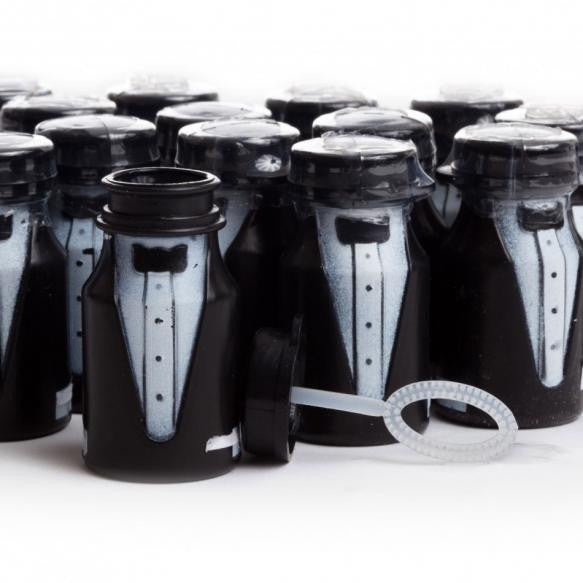 Tuxedo Groom Wedding Bubbles (Set of 24), [Premier Gifts and Balloons], Event Decorations, Premier Gifts 'n Balloons