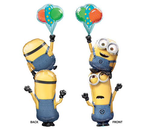 "61"" Pkg Minions Stackers Balloon, [Premier Gifts and Balloons], Balloons, Premier Gifts 'n Balloons"