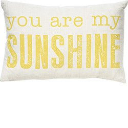 You Are My Sunshine Pillow, [Premier Gifts and Balloons], Home Decor, Premier Gifts 'n Balloons