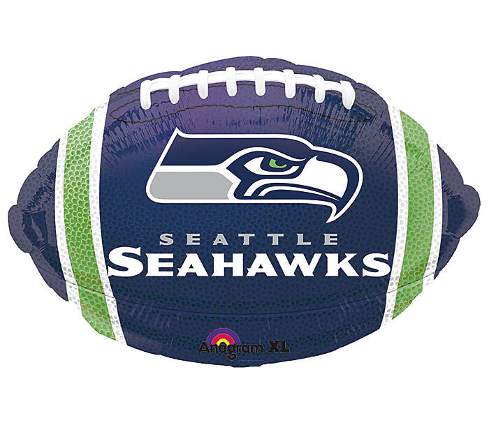 "17"" NFL Seahawks Balloon, [Premier Gifts and Balloons], Balloons, Premier Gifts 'n Balloons"