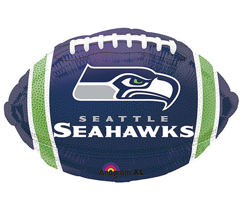"18"" NFL Seahawks Balloon, [Premier Gifts and Balloons], Balloons, Premier Gifts 'n Balloons"
