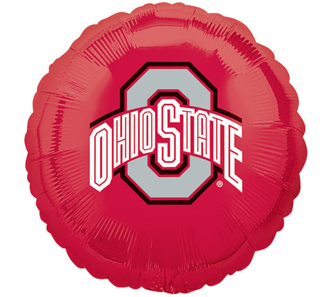 "17"" Ohio State Balloon, [Premier Gifts and Balloons], Balloons, Premier Gifts 'n Balloons"