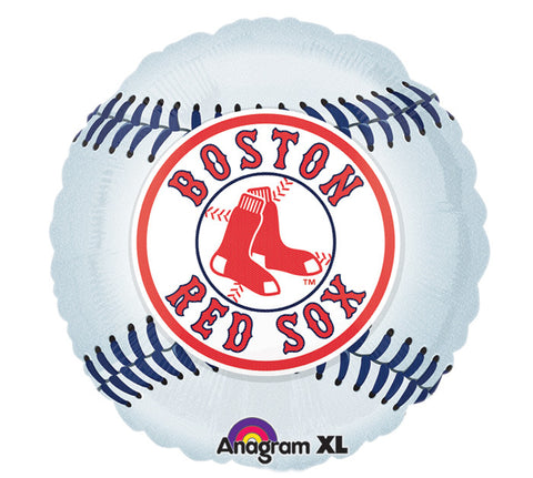 "18"" MLB Boston Red Socks Balloon, [Premier Gifts and Balloons], Balloons, Premier Gifts 'n Balloons"