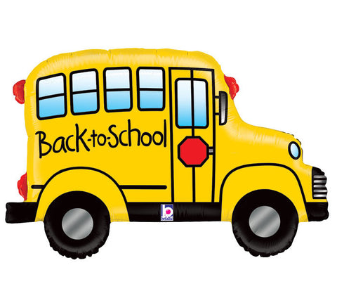 "32"" Back to School Bus Shape Balloon, [Premier Gifts and Balloons], Balloons, Premier Gifts 'n Balloons"