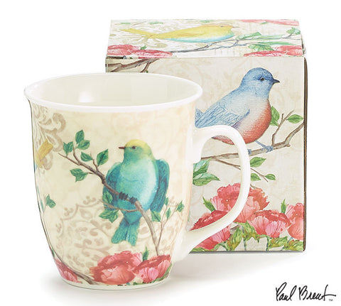 Blossoming Birds and Flowers Mug, [Premier Gifts and Balloons], Drinkware, Premier Gifts 'n Balloons
