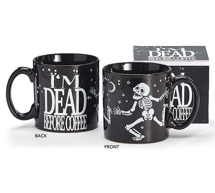 Dancing Skeleton Mug, [Premier Gifts and Balloons], Drinkware, Premier Gifts 'n Balloons