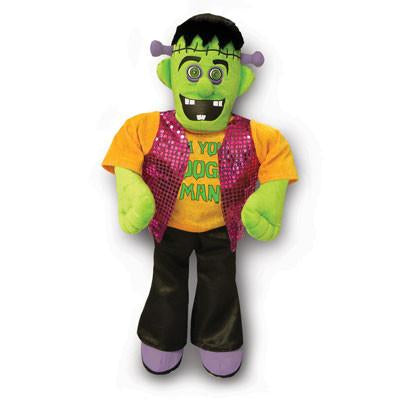 FrankenBoogie Musical Plush Door Hanger, [Premier Gifts and Balloons], Home Decor, Premier Gifts 'n Balloons