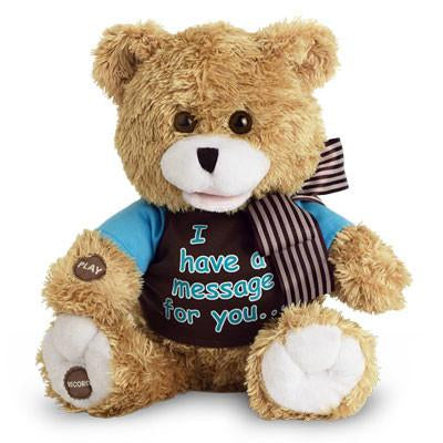 Animated Record-A-Voice Message Plush Bear, [Premier Gifts and Balloons], Plush Toys, Premier Gifts 'n Balloons