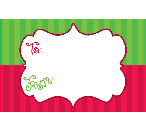 Christmas Marquee Enclosure Card, [Premier Gifts and Balloons], Paper Goods, Premier Gifts 'n Balloons