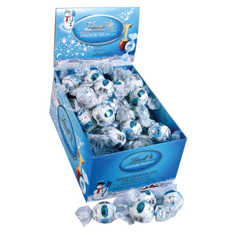 Lindt Lindor Milk Chocolate Truffle Single, [Premier Gifts and Balloons], , Premier Gifts 'n Balloons