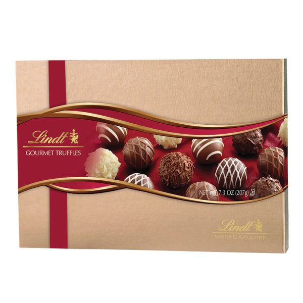 Lindt Gourmet Chocolate Truffles Gift Box, [Premier Gifts and Balloons], Gift Basket, Premier Gifts 'n Balloons