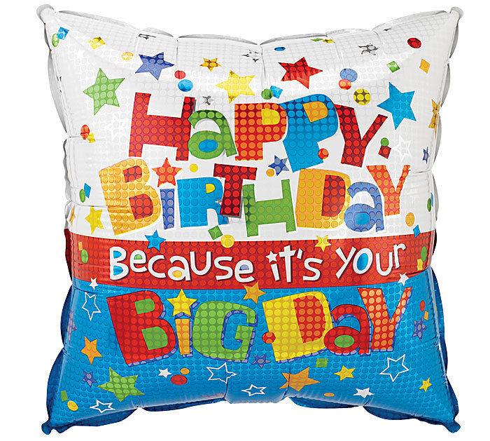 "18"" Pkg It's Your HBD Balloon, [Premier Gifts and Balloons], Balloons, Premier Gifts 'n Balloons"