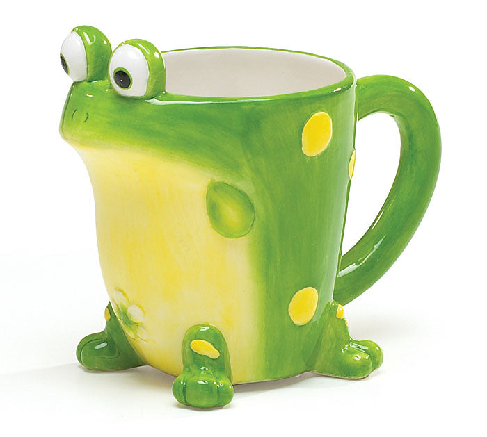 Toby Toad Shaped Ceramic Mug, [Premier Gifts and Balloons], Drinkware, Premier Gifts 'n Balloons