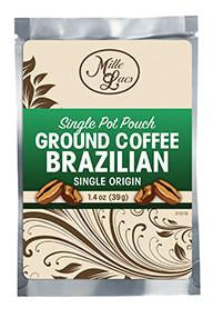 Brazilian Ground Coffee 1.4 oz., [Premier Gifts and Balloons], Gift Basket, Premier Gifts 'n Balloons
