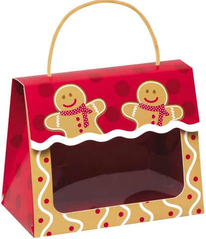 Gingerbread Man Gift Tote Large, [Premier Gifts and Balloons], Packaging, Premier Gifts 'n Balloons