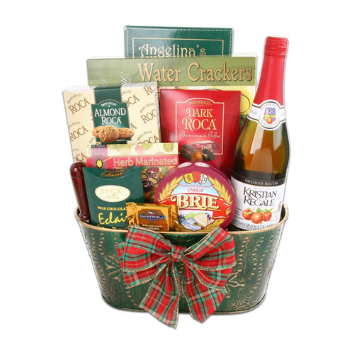 Toast To The Holiday Gift Basket, [Premier Gifts and Balloons], Gift Basket, Premier Gifts 'n Balloons