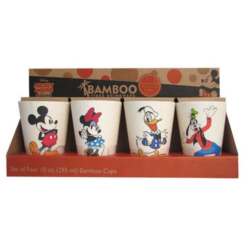 4pk Mickey And Friends Cup Set, [Premier Gifts and Balloons], Drinkware, Premier Gifts 'n Balloons