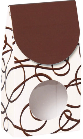 Chocolate Drizzle Gourmet Window Box Small, [Premier Gifts and Balloons], Packaging, Baskets, Premier Gifts 'n Balloons