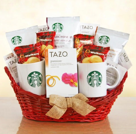 Starbucks for a Special Someone Basket, [Premier Gifts and Balloons], Gift Basket, Premier Gifts 'n Balloons