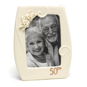 50th Anniversary Pearl Frame, [Premier Gifts and Balloons], Home Decor, Premier Gifts 'n Balloons