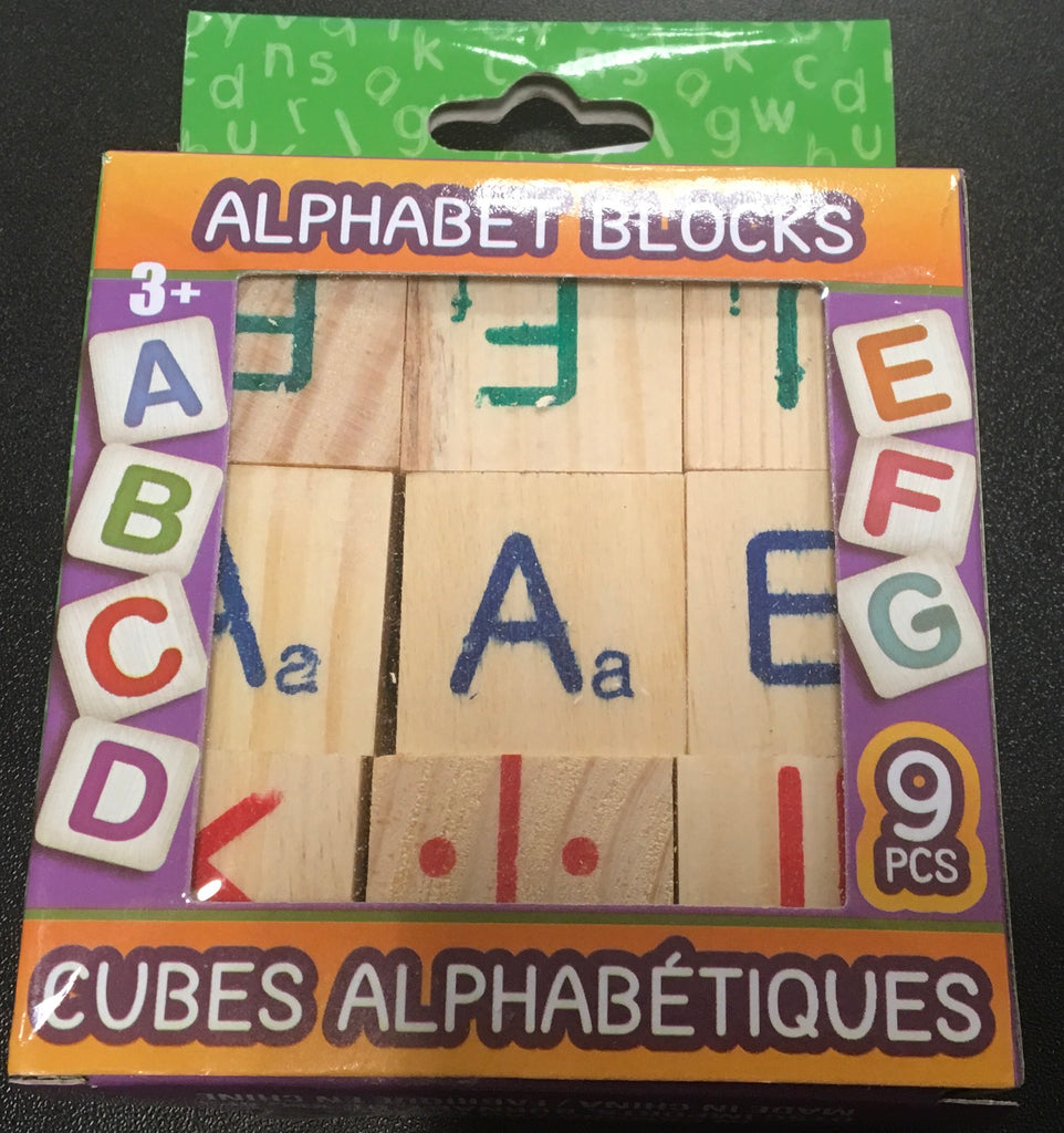 Alphabet Blocks, [Premier Gifts and Balloons], Novelty Item, Premier Gifts 'n Balloons