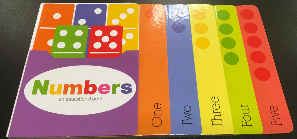 Numbers Educational Book, [Premier Gifts and Balloons], Novelty Item, Premier Gifts 'n Balloons