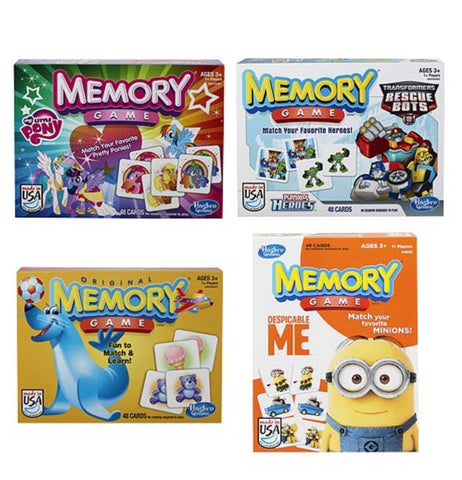 Memory Game Licensed Assortment