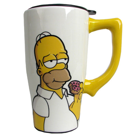 The Simpsons Homer Travel Mug