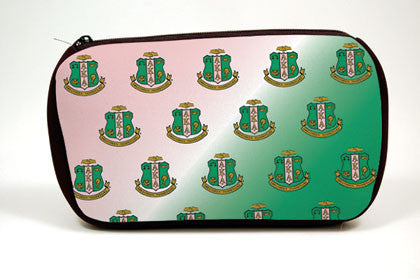 Alpha Kappa Alpha Make up Bag, [Premier Gifts and Balloons], Greek, Premier Gifts 'n Balloons