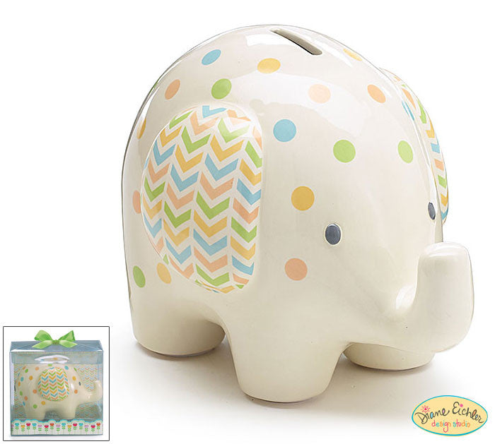 Elephant Bank, [Premier Gifts and Balloons], Ceramic Gifts, Premier Gifts 'n Balloons