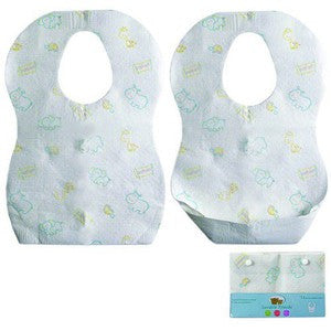 12-Pk Disposable Bibs - Premier Gifts n Balloons