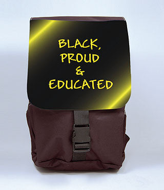 Black Proud and Educated Backpack, [Premier Gifts and Balloons], Afrocentric, Premier Gifts 'n Balloons
