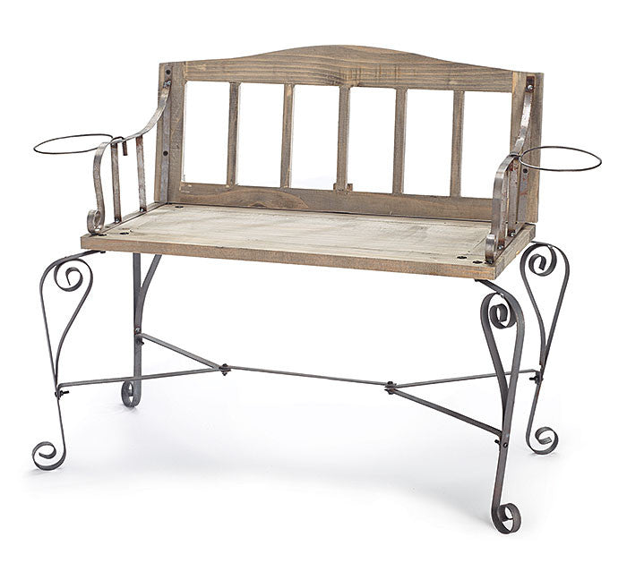 Wooden Bench Decor - Premier Gifts n Balloons