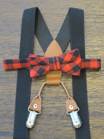 Goliath BowTie & Suspender Set, [Premier Gifts and Balloons], Baby Clothes, Premier Gifts 'n Balloons